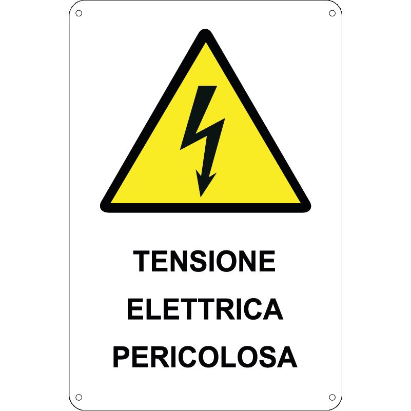 Tensione elettrica pericolosa