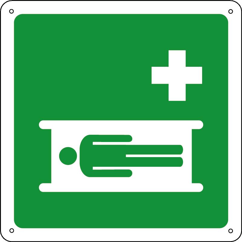 Barella di emergenza quadrato