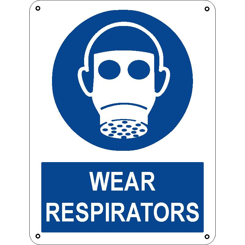 Wear respirators