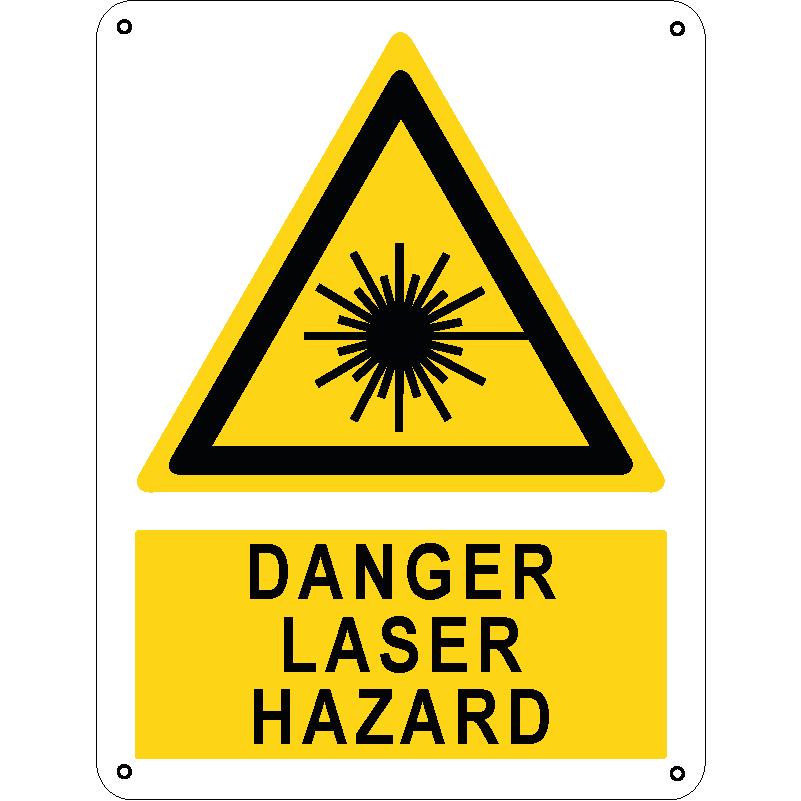 Danger laser hazard