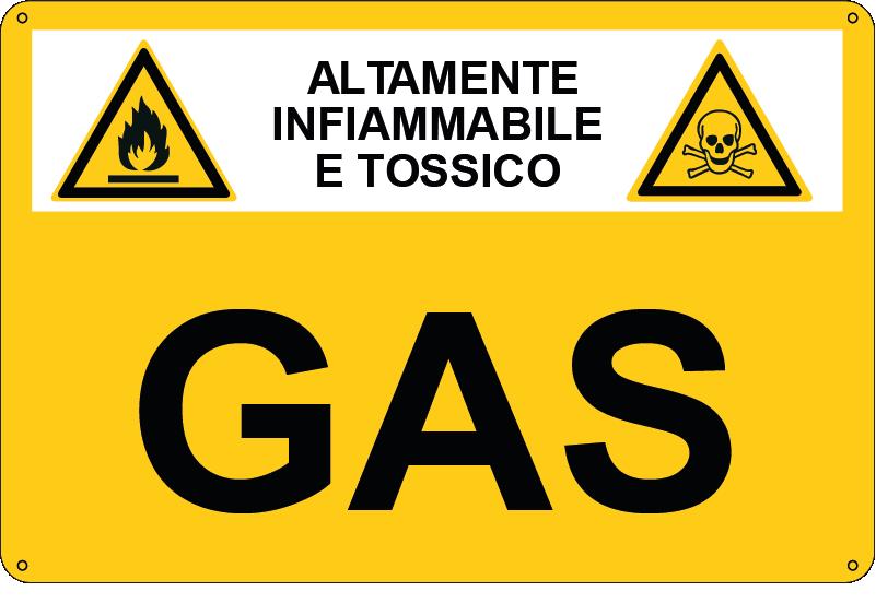 sostanza pericolosa Gas
