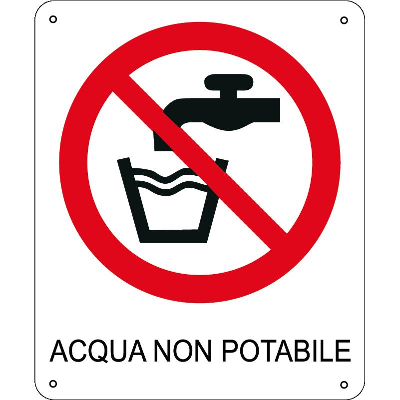 Acqua Non Potabile verticale