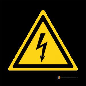 Pericolo elettricità - Bordo Macchina