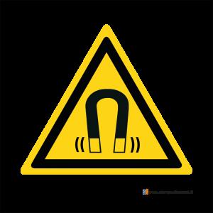 Pericolo campo magnetico - Bordo Macchina