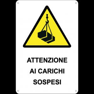 Attenzione ai carichi sospesi