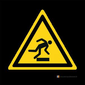 Pericolo ostacolo in basso - Bordo Macchina