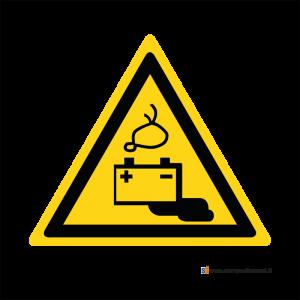 Pericolo batterie in fase di carica - Bordo Macchina