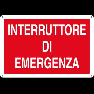 Interruttore di emergenza