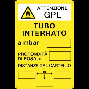 Tubo interrato - GPL