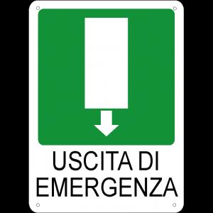 Uscita di emergenza verticale