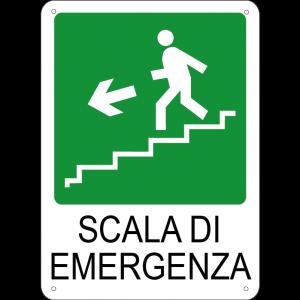 Scala di emergenza verticale