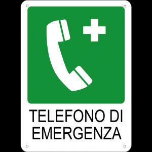 Telefono di emergenza verticale