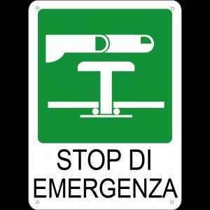 Stop di emergenza verticale