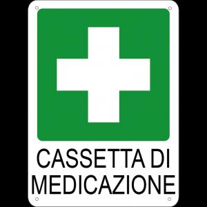 Cassetta di medicazione verticale