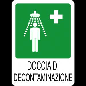 Doccia di decontaminazione verticale