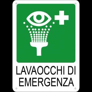 Lavaocchi di emergenza verticale