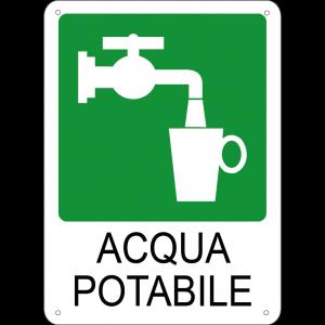 Acqua potabile verticale