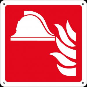 Attrezzature antincendio quadrato