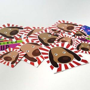 Stickers Adesivi Quadrati
