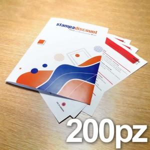 Cartelline - 200 copie