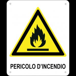 Pericolo d'incendio verticale