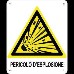 Pericolo d'esplosione verticale