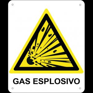 Gas esplosivo verticale