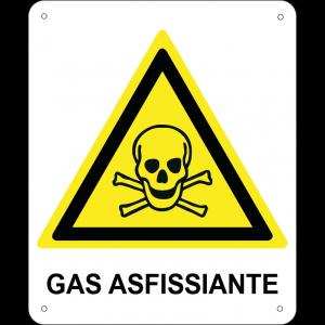 Gas asfissiante verticale
