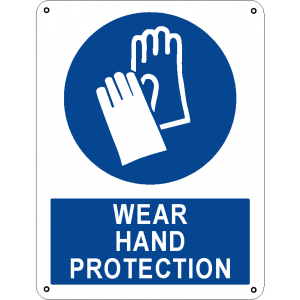 Wear hand protection