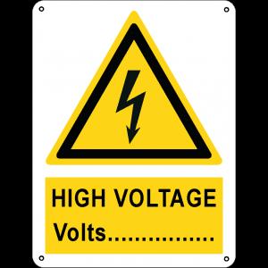 High voltage Volts...