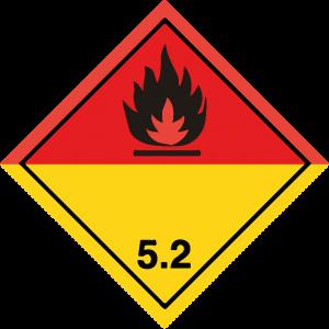 Classe 5 - Perossidi organici - nera