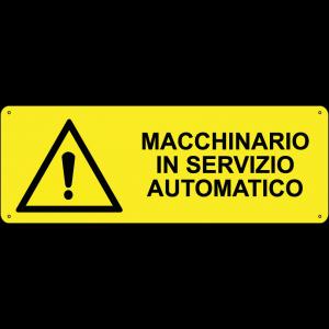 Macchinario in servizio automatico orizzontale