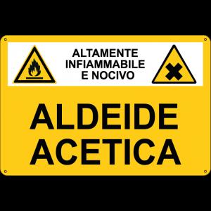 sostanza pericolosa Aldeide acetica