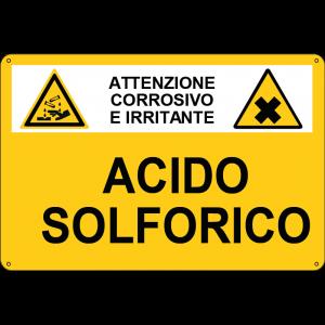 sostanza pericolosa Acido solforico