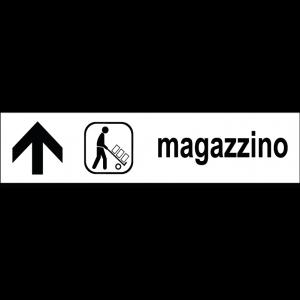 Magazzino - freccia