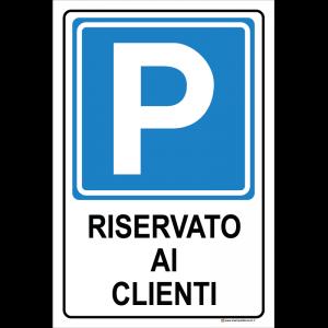 Parcheggio - Riservato ai clienti