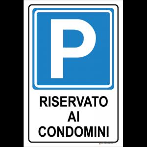 Parcheggio - Riservato ai condomini