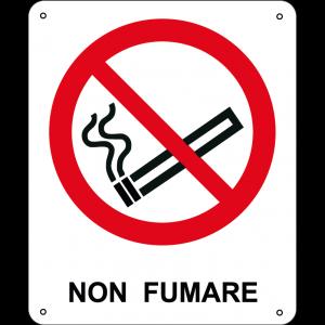 Non Fumare verticale
