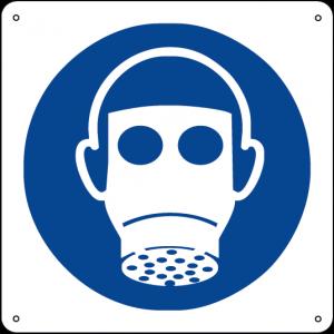 Obbligatorio indossare il respiratore quadrato