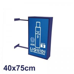 Insegna per Tabacchino 40x75 cm - ADM - LIQUIDI DA INALAZIONE