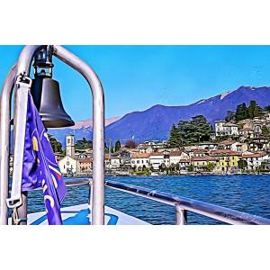 Claudia Spanò - Lago di Como dalla Barca