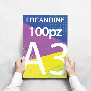 Locandine A3 - 100 copie