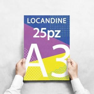 Locandine A3 - 25 copie