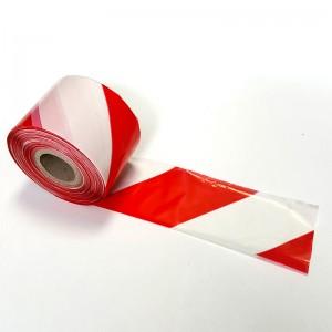 Nastro Segnaletico Bianco Rosso
