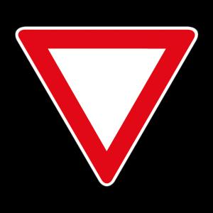 00000036 - Segnale di precedenza - Dare precedenza - Figura 36