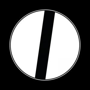 00000070 - Segnale che indica la fine di un divieto - Via libera - Figura 70