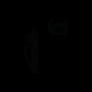 Gatto - Adesivo - cod. 00700109