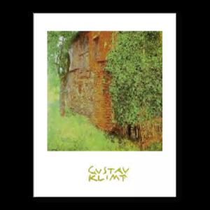 080 - Gustav Klimt - Casa colonica a Kammer sull'Attersee