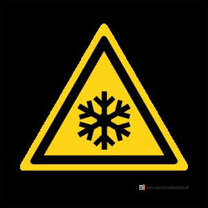 Pericolo bassa temperatura - Bordo Macchina