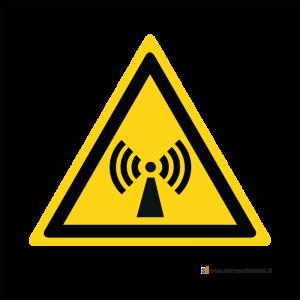 Pericolo radiazioni non ionizzanti - Bordo Macchina